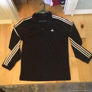 Men's Quarter Zip Adidas Pullover